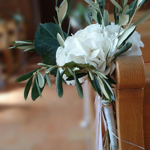 Kirchendekoration Hochzeit